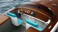 Aquariva by Marc Newson  A design superstar reinterprets the classic speedboat