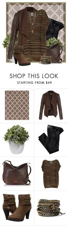 """""""Untitled #471"""" by boho-at-heart ❤ liked on Polyvore featuring Dash & Albert, Nearly Natural, AG Adriano Goldschmied, The Bridge, M Missoni, U.S. Polo Assn., Chan Luu and Jules Smith"""