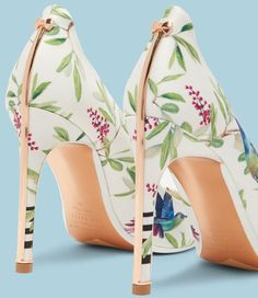 Highgrove Hummingbird 'Hallden' Printed Easter Shoes