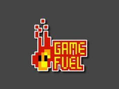 Game Fuel - Animated Logo by Sebastián Pizarro