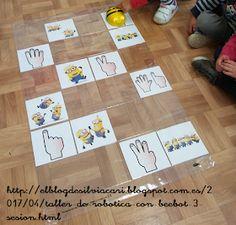 RECURSOS PARA LA ETAPA DE EDUCACIÓN INFANTIL: TALLER DE #ROBÓTICA CON #BEEBOT: 3ª SESIÓN #ABN Jean Piaget, Kindergarten, Preschool, Bee, Coding, Math, Ideas Para, Lemon, Kids