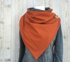 Schals - LILLE // Rost - ein Designerstück von luett-und-Lang bei DaWanda