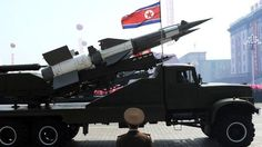 North Korea fires what appear to be land-to-ship missiles off its east coast