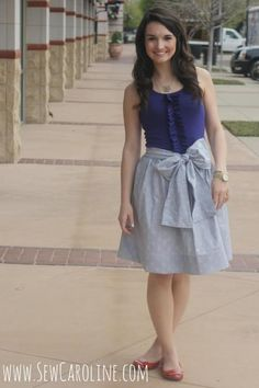 Sew Sweet Tank Dress Tutorial | This sew sweet dress is absolutely perfect for summer or fall!
