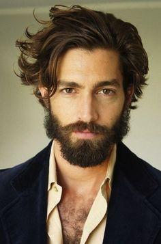 mens medium hairstyle