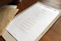 Crossroads Bakery Café Branding by Minhee Kim | restaurant menu card
