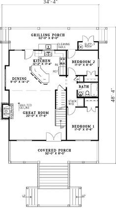 - 59959ND | 1st Floor Master Suite, CAD Available, Cottage, Loft, Low Country, Narrow Lot, PDF, Vacation | Architectural Designs