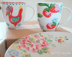 New Cath Kidston Dishes