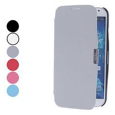 Solid Color PU Leather Full Body Case met standaard voor Samsung Galaxy S4 I9500 (verschillende kleuren) – EUR € 5.51