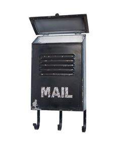 Take a look at this Black Metal Mailbox by VIP International on #zulily today! $29.99, usually 48.00