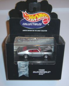 Hot Wheels Collectibles - 442 Oldsmobile  - 1:64 - Black Box -