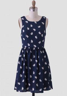 Ellie Printed Dress