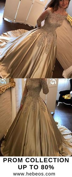 Simple Prom Dresses, simple prom dresses new prom gown vintage prom gowns elegant evening dress cheap evening gowns party gowns modest prom dress LBridal Simple Prom Dress, Elegant Prom Dresses, Prom Dresses Long With Sleeves, Prom Dresses 2018, Ball Gowns Prom, Formal Dresses For Women, Cheap Prom Dresses, Beautiful Dresses, Party Dresses