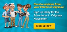 Sign up for the Adventures in Odyssey Club Newsletter