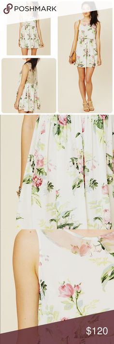 Free PeopleTERRI'S PRINTED DRESS Sz: XS Pre owned , worn once. Color: IVORY FLORAL COMBO Size: XS $199.95 Free People Dresses