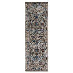 Magnolia Home By Joanna Gaines Kivi Rug in Fog/Multi
