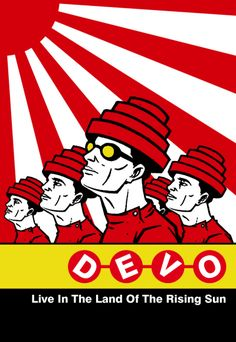 'Devo' is an American New Wave band formed in 1972.  Their style over time has shifted between punk, art rock, post-punk, and New Wave. Their music and stage show mingle kitsch science fiction themes, deadpan surrealist humor, and mordantly satirical social commentary.'Q: Are We Not Men? A: We Are Devo!' their debut album produced by Brian Eno and released in 1978. The album peaked at no.12 on the UK album charts and number 78 on the U.S. Billboard charts.
