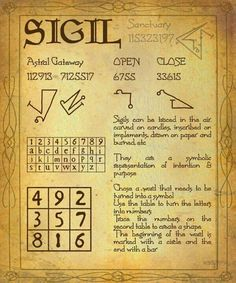 Sigil ~ This is just one way.