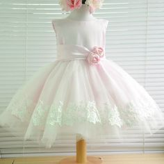 Kids First Birthday Dress, Girls Dress Skirt Child Princess Dress Flower Girl Pink Wizard - US$99.00 - amanda99.com