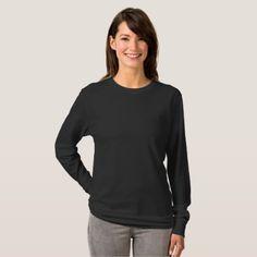 #plain - #Plain black comfy jumper T-Shirt