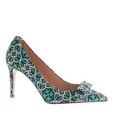 J Crew Collection Everly printed pumps