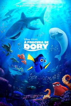 Assistir Procurando Dory Online Dublado ou Legendado no Cine HD