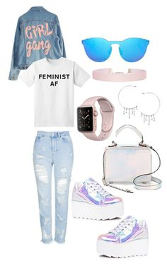 """🍬"" by ajoneslove on Polyvore featuring Topshop, Y.R.U., Rebecca Minkoff, Illesteva, Humble Chic and Annika Burman"