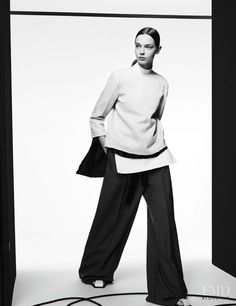 Fashion Show in Vogue Germany with Mina Cvetkovic - Fashion Editorial | Magazines | The FMD #lovefmd