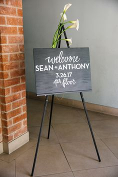 Hudson Loft | welcome sign | custom sign