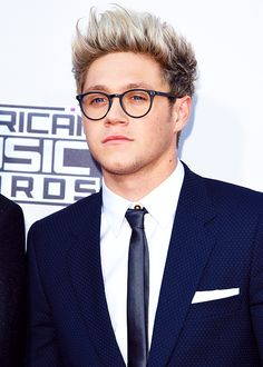 Niall Horan on the 2015 American Music Awards red carpet