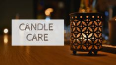 Candle care and safety tips. Home Safety, Safety Tips, Fire Prevention, Place Card Holders, Candles, Safety At Home, Candy, Candle Sticks, Candle