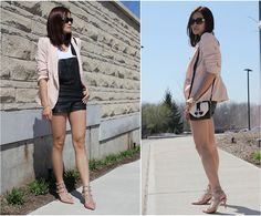 Forever 21 Overalls, Givenchy Bag, Valentino Shoes