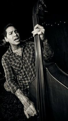 WHAT?  Since when does MXPX have an upright bass?