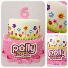 Resultado de imagem para polly pocket birthday cake