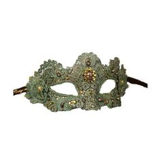 Tumblr - Green Mask ❤ liked on Polyvore featuring masks and accessories