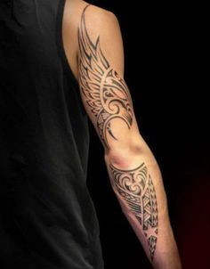 Exquisite Full Sleeve Men Tattoo Ideas Worth Checking Out - maori tattoos Music Tattoo Designs, Music Tattoos, Body Art Tattoos, Sleeve Tattoos, Rock Tattoo, Tatoos, Tribal Tattoos For Men, Tattoos For Women, Tattoos For Guys