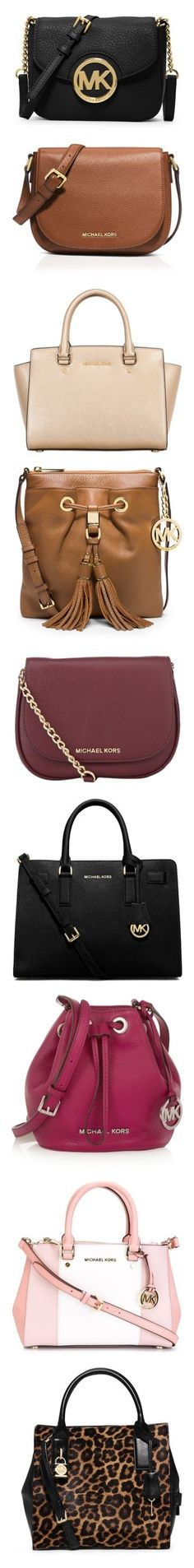 """Michael Kors Collection"" by eltrada on Polyvore featuring bags, handbags, shoulder bags, purses, accessories, clutches, michael kors, black, black crossbody purse and black cross body purse"