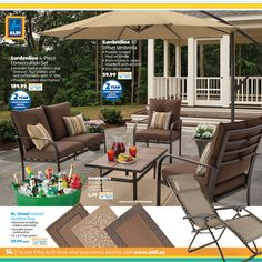 Exceptional More Savings With ALDI. Create A Backyard Oasis.