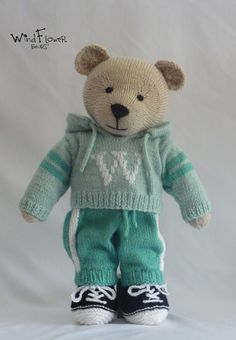 a7e14108 Free knitting pattern for Teddy Bear Superhero Outfits | Crafts ...