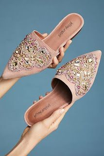 Jeffrey Campbell Olden Flats by in Beige Size: at Anthropologie , Mules Shoes, Shoes Heels, Flats, Flat Shoes, Bridal Shoes, Wedding Shoes, Fashion Shoes, Fashion Accessories, Women's Fashion