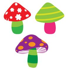 Shery K Designs: Free SVG GSD DXF | Mushrooms
