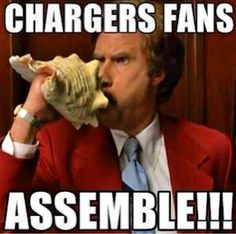 San Diego Chargers ~ Anchorman