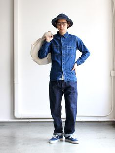 orSlow オアスロウ orSlow Standard 5P Denim 105 - ONE WASH -