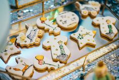 The decorated cookies at this Little Prince Birthday Party are amazing!!!  See more party ideas and share yours at CatchMyParty.com