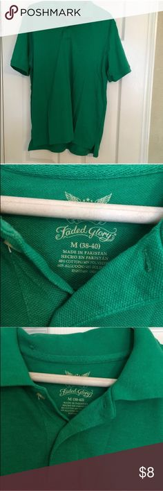 Men's Green Collared Shirt NWOT Men's Collared Shirt • 2 available   • Offers Welcome • Bundle Discounts  • Suggested User • Fast Shipper Faded Glory Shirts Polos