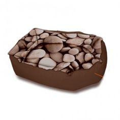 Funda cama para perro Donut Güashy Stones Sepia Tone. Envío gratis 48h