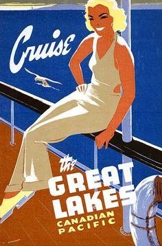 ART & ARTISTS: Vintage Travel Poster
