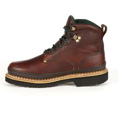 If you need a new pair of shoes for work or casual wear, these men's Georgia Boot Giant work boots are a great choice. Georgia Boots, Goodyear Welt, Casual Wear, Hiking Boots, Combat Boots, Fashion Shoes, Shoe Boots, Lace Up, Pairs