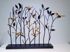 Pájaros de hierro , adornos retro rústico salón vestíbulo de hierro pachir árbol adornos, barra de hierro forjado decoraciones creativas en Decoraciones de Calzado en AliExpress.com | Alibaba Group