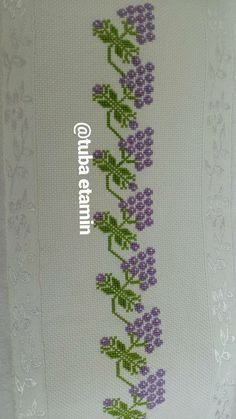 Cross Stitch Embroidery, Hand Embroidery, Embroidery Designs, Cross Stitch Borders, Cross Stitch Patterns, Yarn Crafts, Diy And Crafts, Cross Stitch Silhouette, Purple Wine